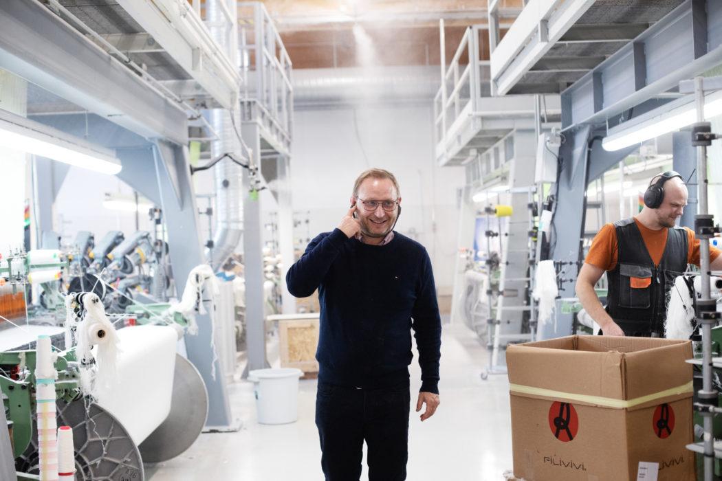 Suomen lampaiden villaa teolliseen hyötykäyttöön ja uusia investointeja LAPUAN KANKUREILLA